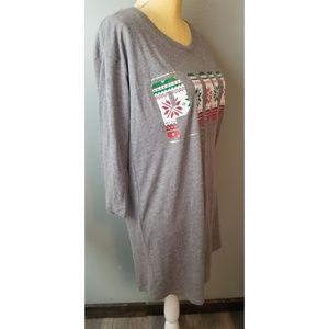 PINK Victoria's Secret Intimates & Sleepwear - Victoria's Secret PINK Christmas Nightgown